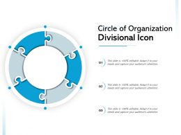 Circle Of Organization Divisional Icon