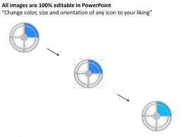 Circle Of Products Branding And Icons Powerpoint Template Slide