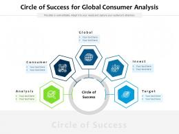 Circle Of Success For Global Consumer Analysis