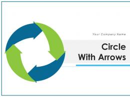 Circle With Arrows Business Analysis Teamwork Planning Innovation Communicate