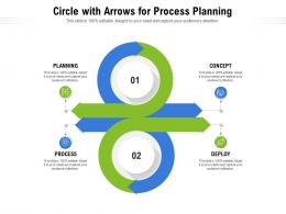 Circle With Arrows For Process Planning