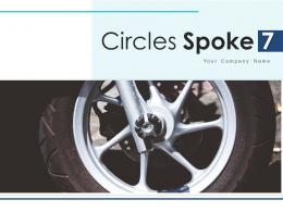 Circles Spoke 7 Marketing Advertising Element Circles Service Improvement Representing