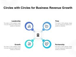 Circles With Circles For Business Revenue Growth