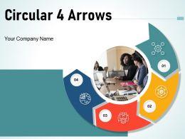 Circular 4 Arrows Development Marketing Measurement Analytics Business Goals