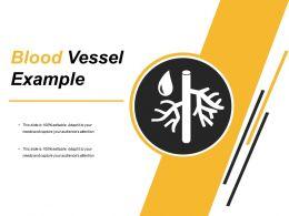 Circular Blood Vessel Icon
