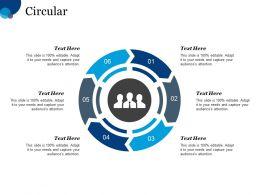 Circular Circular Process Management Planning Business