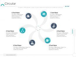 Circular Company Ethics Ppt Icons