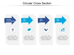 Circular Cross Section Ppt Powerpoint Presentation Infographic Template Example 2015 Cpb