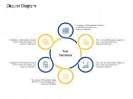 Circular Diagram Agile Operations Management Improving Tasks Boosting Team Performance Ppt Icon