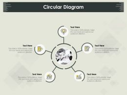 Circular Diagram M831 Ppt Powerpoint Presentation Outline Maker