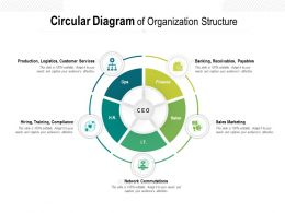 Circular Diagram Of Organization Structure