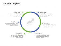 Circular Diagram Using Customer Online Behavior Analytics Acquiring Customers Ppt Portfolio Objects