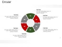 Circular Ecommerce Solutions Ppt Mockup