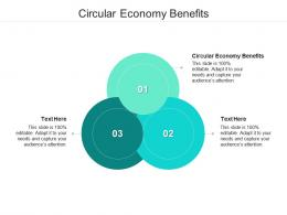 Circular Economy Benefits Ppt Powerpoint Presentation Gallery Slide Portrait Cpb