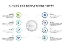 Circular Eight Spokes Centralized Network