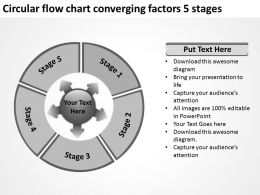 circular_flow_chart_converging_factors_5_stages_arrows_software_powerpoint_slides_Slide02