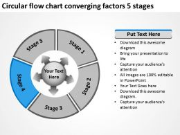 circular_flow_chart_converging_factors_5_stages_arrows_software_powerpoint_slides_Slide06