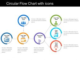 Circular Flow Chart With Icons