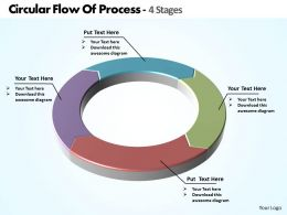 circular_flow_of_process_4_stages_powerpoint_diagram_templates_graphics_712_Slide01