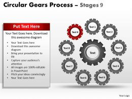 circular_gears_flowchart_process_diagram_stages_9_Slide10