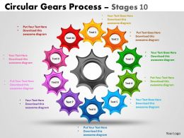 Circular Gears Process Stages 10