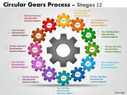 Circular Gears Process Stages 12