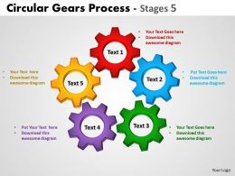 Circular Gears Process Stages 13