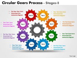 Circular Gears Process Stages 6