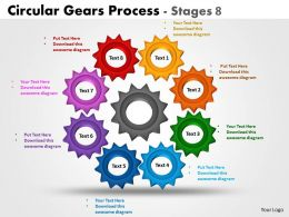 Circular Gears Process Stages 8