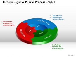 circular_jigsaw_puzzle_flowchart_process_diagram_style_7_Slide01