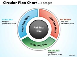 Circular Plan diagrams Chart 4