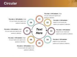 Circular Powerpoint Graphics
