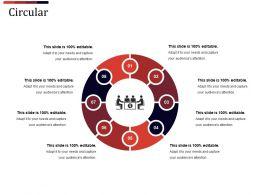 Circular Powerpoint Graphics Template 2