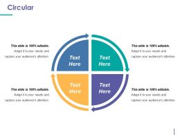 Circular Powerpoint Presentation Examples