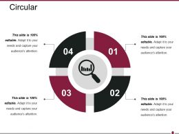 Circular Powerpoint Presentation Templates