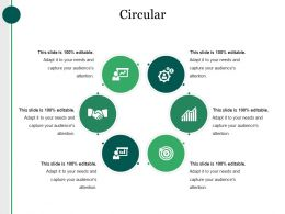 Circular Powerpoint Slide