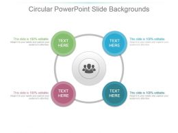 Circular Powerpoint Slide Backgrounds