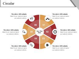 Circular Powerpoint Slide Design Templates