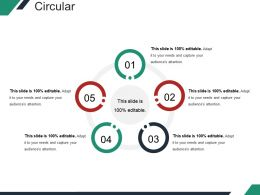 Circular Powerpoint Slide Template 2