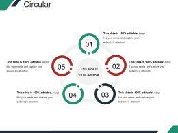 Circular Powerpoint Slide Template 2