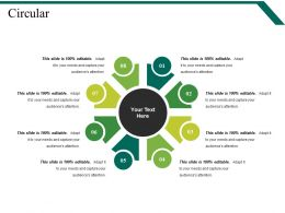 Circular PowerPoint Slide Themes
