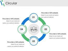 Circular Powerpoint Slides Design
