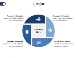 Circular Ppt File Slides