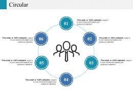 Circular Ppt Icon Templates