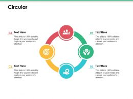 Circular Ppt Infographic Template Inspiration