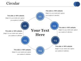 Circular Ppt Infographic Template Visual Aids