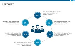 Circular Ppt Infographics Guidelines
