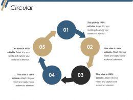 Circular Ppt Microsoft