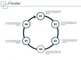 Circular Ppt Model Template 1
