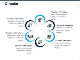 Circular Ppt Slide Design